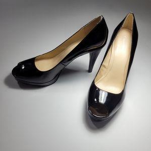 Calvin Klein Sandie Open Toed Heels